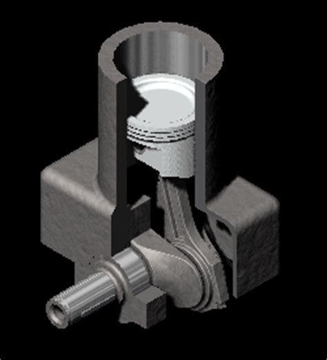 steam engine diagram gif piston engine animation pictures to pin on