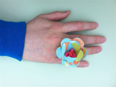 How To Make A Ring With Paper - i to create paper flowers 4 ways 171 generation t