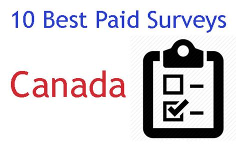 Best Surveys For Money Canada - 10 best survey sites in canada 2017