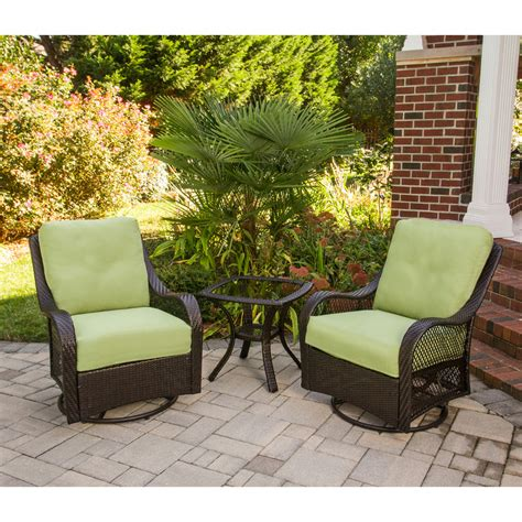 patio set 3 hanover orleans3pcsw orleans 3 patio set with 2