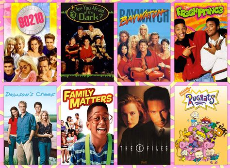 tv shows where to the typefaces of iconic 90s tv show