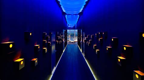design house barcelona lighting the w hotel in barcelona by ricardo bofill architecture