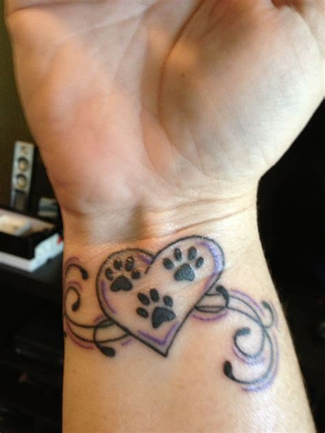 small paw print tattoos paws in tattoos