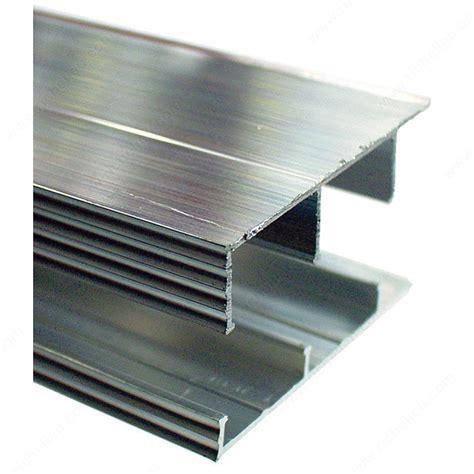 sliding glass cabinet door track sliding door track aluminum richelieu hardware