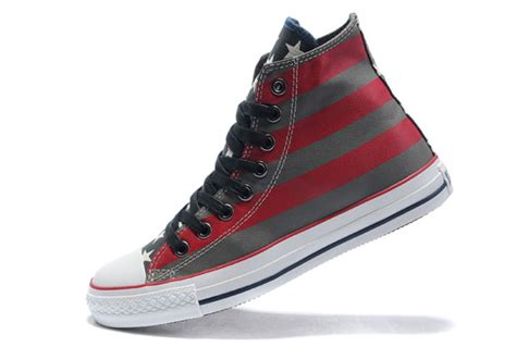 converse american flag painted canvas shoes for sale