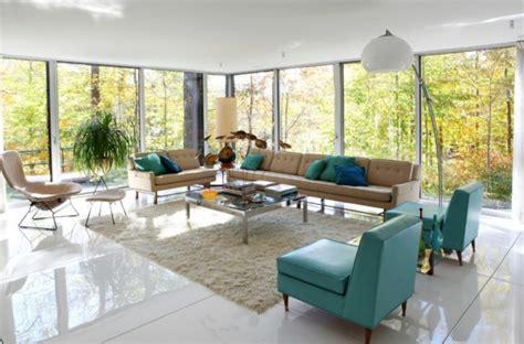 60s wohnzimmer vintage einrichtung einrichtungsideen im retro stil