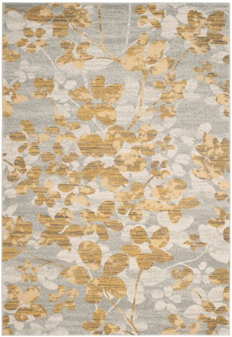 grey and gold rugs at rug studio safavieh safavieh evoke evk236p grey gold area rug 155263