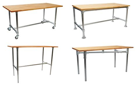 Simple Table L by Build Your Own Industrial Desk With Simple Table