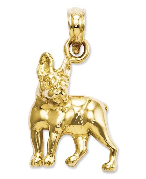 jewelry boston 14k gold charm boston terrier charm shops dads and