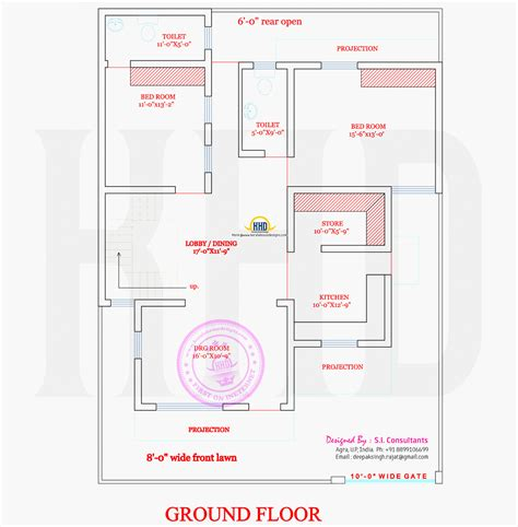 ground floor plan nice modern house with floor plan kerala home design and