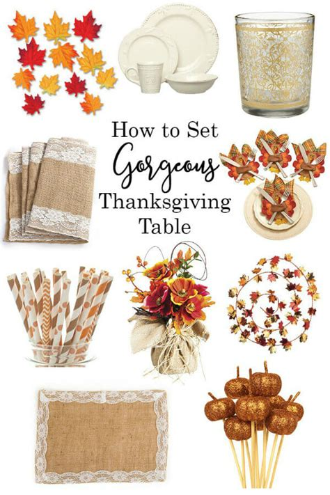 how to set a thanksgiving table how to set a gorgeous thanksgiving table it is a keeper