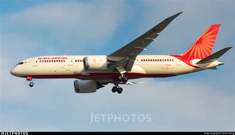 air india ai115 vt anl b787 dreamliner vt anl boeing 787 8 dreamliner air india adrian