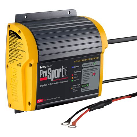 marine onboard battery charger promariner prosport 6 3 heavy duty recreational series