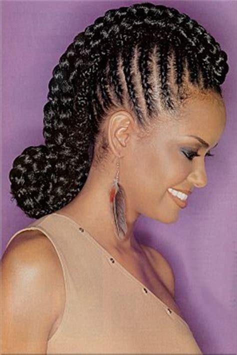 black american hair style corn row based trendy fryzur warkoczyki na całej głowie 2012
