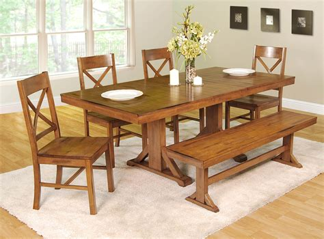 dining room sets bench 26 big small dining room sets with bench seating