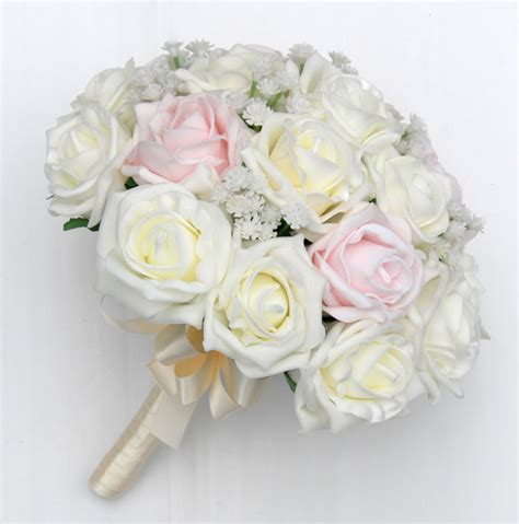 Wedding Bouquet For Bridesmaids by Bridesmaids Artificial Wedding Bouquet In Mixed Roses With