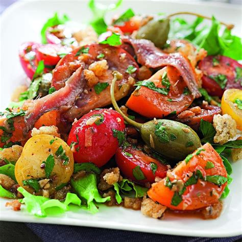 spanish inspired tomato salad recipe eatingwell - Spanish Salad