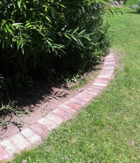 brick edging for flower beds flower bed edging with brick ortega lawn care