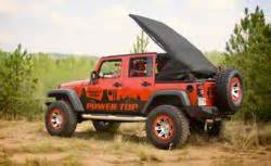 4wd now selling omix ada power top soft top for jeeps