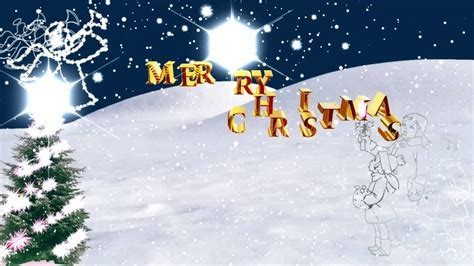 merry christmas happy holidays video background youtube