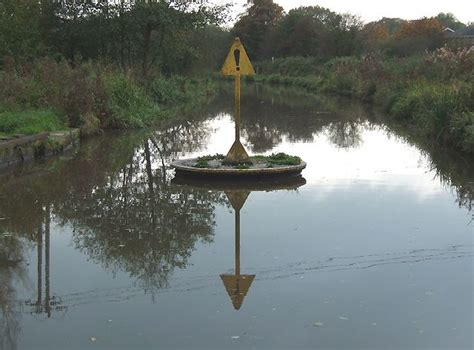 leek swing relic of lost railway swing bridge over caldon canal