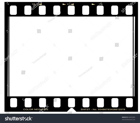 www film negative picture film frame stock photo 66643285