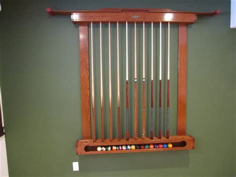 Diy Pool Cue Rack by Pool Cue Rack Woodworking Plans