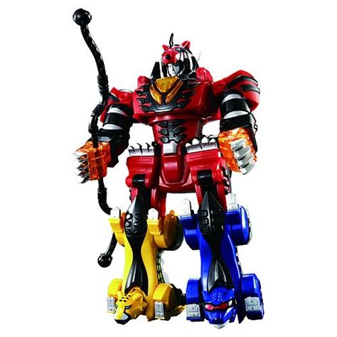 Megazord Power Rangers Jungle Fury power rangers deluxe jungle pride electronic megazord