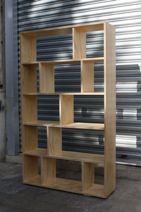 plywood bookcase  simple bookcase designs