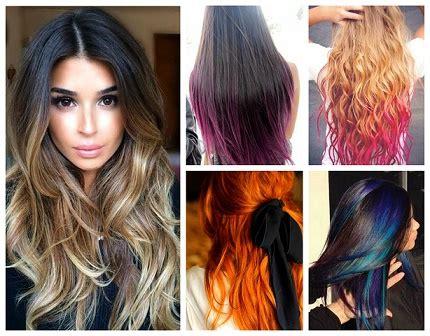 biggest hair color trends  techniques