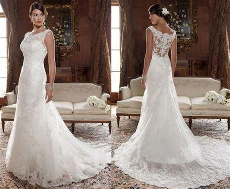 Wedding Dresses Size 10 by New White Ivory Lace Wedding Dress Bridal Gown Custom Size