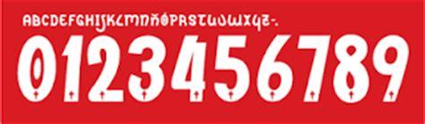 Custom Font Nameset St Pauli 2014 15 font jersey adidas nike joma warrior kappa uhlsport free ligament sport