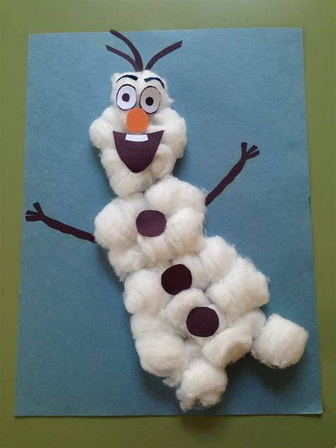 cotton craft for 5 winter crafts for toddlers early intervention support