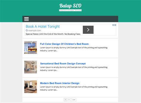 best blog templates for advertising 4 top free blogger template responsive untuk adsense uc