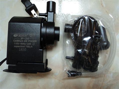 Power Resun Sp 1200 cabeza de poder resun sp 1200 700l h 240 00 en mercadolibre