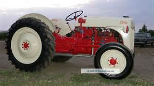 1950 s restored ford 8 n tractor