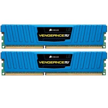 Ram 8gb Corsair Vengeance corsair memory vengeance low profile blue 8gb ddr3 1600 mhz cas 9 xmp dual channel desktop