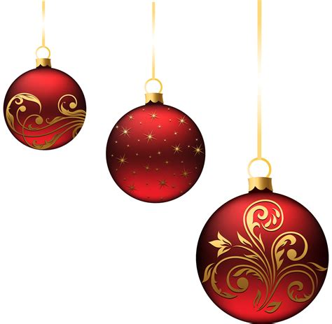gold xmas ornaments clipart clipart suggest