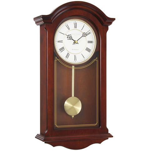 decorative clock mahogany finish pendulum wall clock decorative carving