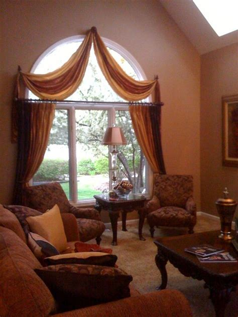 Curtains For Windows With Arches 60 Best Images About Creative Window Treatments On Pinterest Window Treatments The Window And
