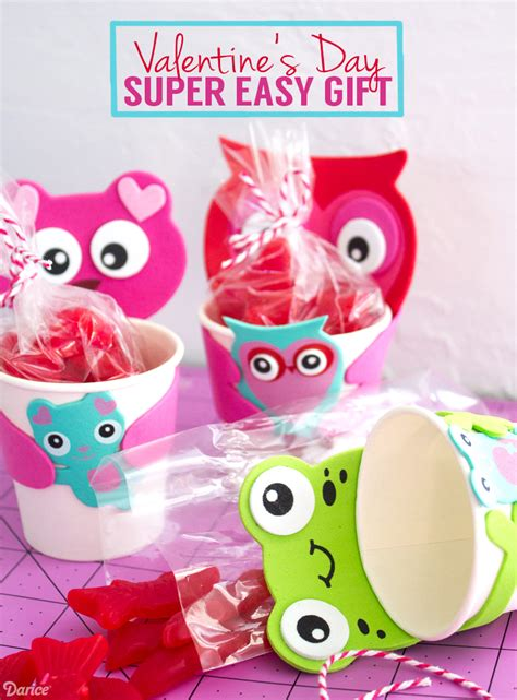 valentines gifts for children diy gift for paper cup kits darice