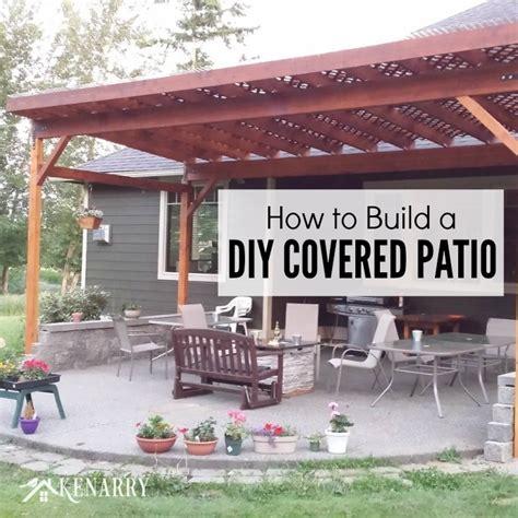 Patio Designs Diy Diy Patio Cover Ideas Ketoneultras