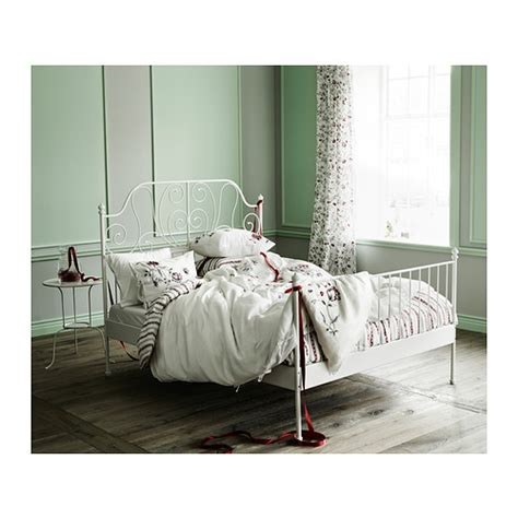 leirvik bed frame leirvik bed frame white luroy furniture source philippines