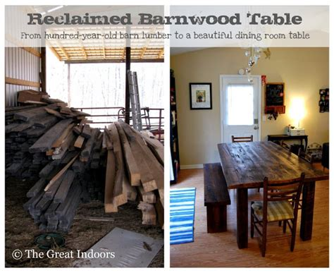 smoosh room the great indoors our reclaimed barnwood table