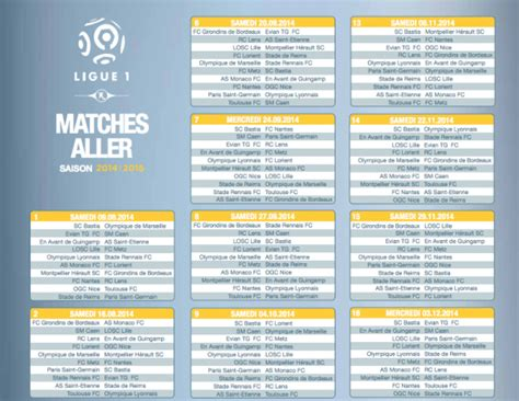 Calendrier Ligue 1 Pdf 2015 Calendrier De La Can 2015 New Calendar Template Site