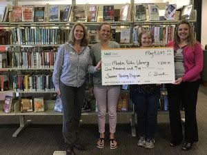 call m and t bank m t bank supports mendon library s summer reading