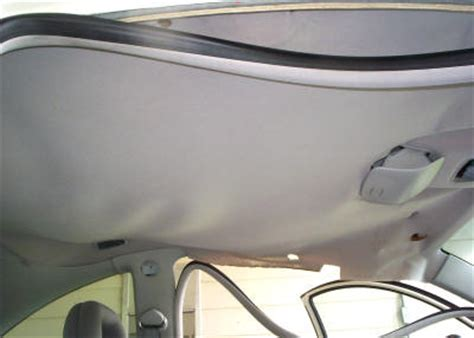 Car Roof Interior Sagging by 1999 Volkswagon Beetle Headliner Installation
