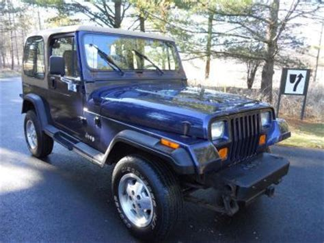 navy blue jeep 1994 jeep wrangler navy blue http iseecars com used