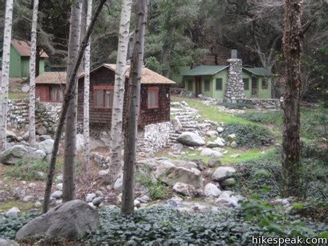 Sturtevant Falls Cabins by Sturtevant Falls Trail Los Angeles Hikespeak