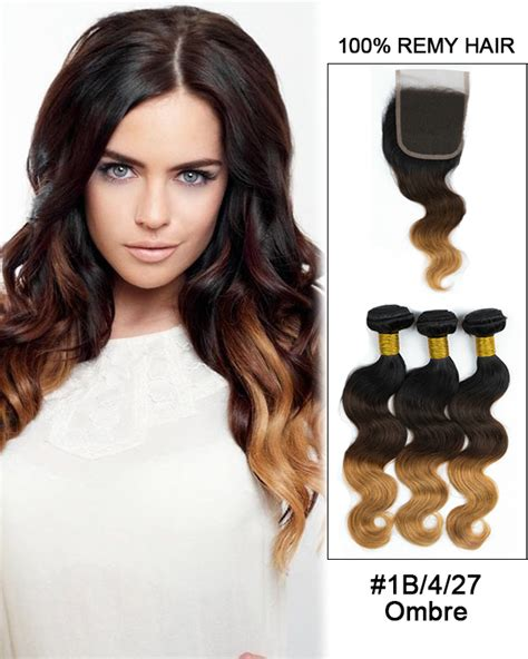 ombre hair weave african american lace closure wholesale online charmfemale com